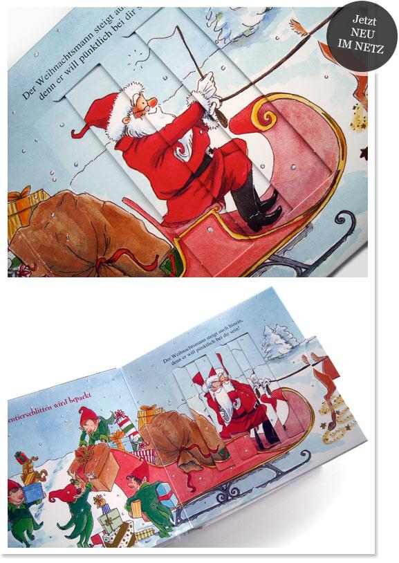 Sonja Egger-Buch: Bald schon kommt der Weihnachtsmann