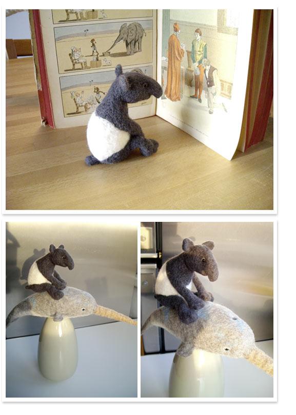 sonja-egger-filz-schabrackentapir-tapir